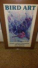 "Vintage Robert Bateman ""Winter Carnival"" Bird Art"