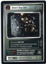 Star Trek CCG First Contact, Queen's Borg Cube. Mt/Nr-Mt