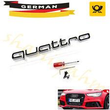 Für Audi quattro Grillabzeichen Logo RS3 RS4 RS6 A3 A4 A5 A6 S3 S4 S5 Q7 S Linie