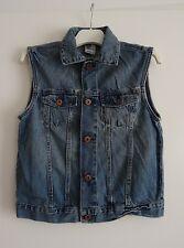 Veste en jean sans manches H&M taille 11/12 ans