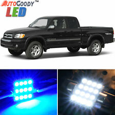 6 x Premium Blue LED Lights Interior Package Deal Toyota Tundra 2000-2003 + Tool