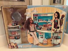 Barbie MY SCENE MAKEUP SCENE fashion doll PLAYSET mib nrfb read