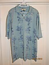Men's Tommy Bahama Silk & Cotton Hawaiian Polo Shirt Size Medium