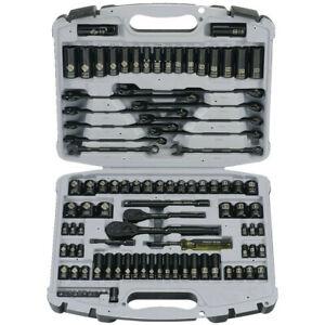 Stanley 92-839 99-Pc. Black Chrome Socket Set New