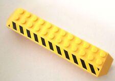 LEGO 1X BRICK PILASTRO PONTE RUOTE CAMION GIALLO + ADESIVO 30296 LOTTO KG SET