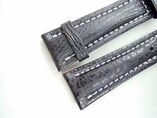 Hai-Band, schwarz, 24/20 (120/80), speziell passend für Breitling-Dornschließen
