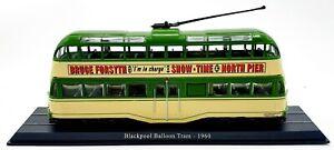 EBOND Atlas Collections - Blackpool Balloon Tram - 1960 - 1:76 - 0129.