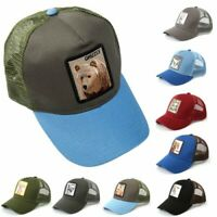 Men Women Animal Farm Snapback Adjustable Baseball Cap Hip-Hop Mesh Hat Trucker