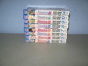 Lot of 8 Eyeshield 21 Manga by Riichiro Inagaki Shonen Jump Advanced 1st p