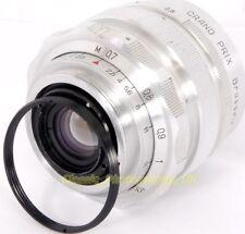 Cámara SLR LEICA L39 a M42 PENTAX Tornillo Adaptador Para Zenit M39 35mm Lente en M42