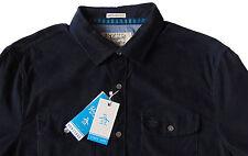Men's PENGUIN Dark Blue Corduroy Shirt Slim Fit XL Extra Large NWT NEW Cool!