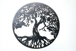 Tree Of Life Wall Hanging,Solid Steel,Australian Made 890mm