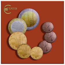 KMS Kursmünzensatz Andorra 2015 1 Cent bis 2 Euro Coin Coins