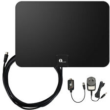 Digital Indoor HDTV TV Antenna Freeview TV Black/white Color 1080P FM/VHF/UHF