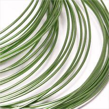 Fil en Aluminium 1mm – 2 Mètres Vert Anis