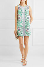Tory Burch Dress  M Linen NWT $250 Spring 2017 Garden Party  6 8 Cover Up