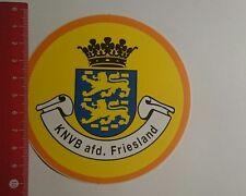 Aufkleber/Sticker: KNVB afd Friesland (261216111)