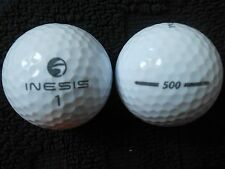 "20 INESIS  ""500""- ""WHITE"" - 2017 MODEL - Golf Balls - ""MINT/PEARL"" Grades."