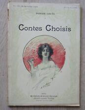 Pierre Louys CONTES CHOISIS Artheme Fayard Edition Illustrée CALBET  (1911)