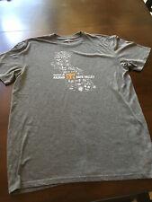 85594344 NEW 2017 Ragnar Relay Napa Valley Grey Inner Wild Reebok Running T-Shirt  Size XL