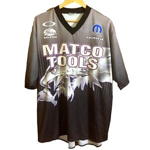 MATCO TOOLS Outer Circle Men's Size XL Racing Motorsports Wear Jersey Shirt