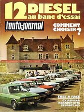 AUTO JOURNAL 1979-12 RENAULT R20 TS CITROEN CX 2000 PEUGEOT 505 STI 305 504 604
