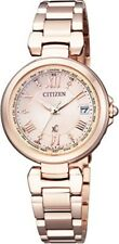 Citizen xC Happy Flight EC1032-54X Eco-Drive Atomic H240 Womens Watch EMS