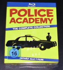 POLICE ACADEMY THE COMPLETE COLLECTION  BLU RAY SCHNELLER VERSAND NEU & OVP