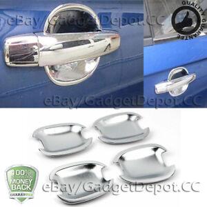 For 2010-2014 BUICK LACROSSE 2011-2014 REGAL Door Handle Bowl Cover Chrome Trim