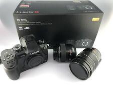 Panasonic Lumix DC-GH5 with 2 Leica Lenses 12-60mm & 45mm Mirrorless Micro 4/3