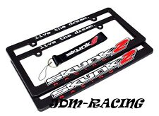 X2 JDM Skunk2 Racing License Plate Frame - Live The Dream Universal HONDA CIVIC