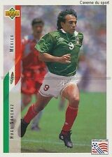 N°029 HUGO SANCHEZ MEXICO TRADING CARDS UPPER DECK WORLD CUP USA 1994