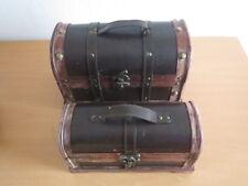 Small Foot Company 9571 Holzbox Antik 2-er Set Truhe Truhen -