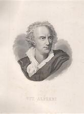 Alfieri Vittorio, 1857 acquaforte