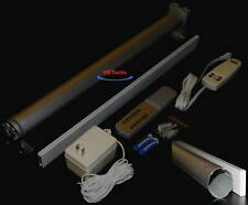 "95"" Remote Electric Shade Blind Curtain Roll Up Down Rod"