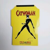 Catwoman Fold and Mail Stationery Superheroes By DC Comics Letter Writing