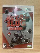 Metal Slug Anthology (Nintendo Wii, 2006) CIB, Tested, Works