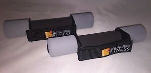 2/ Jackie Chan Studio 1 lb Hand Walking Exercise Weights Fitness Soft Dumbbells