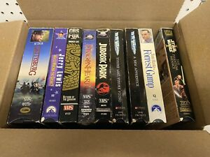 Mixed Vhs Lot Gettysburg Bruce Lee Star Wars More
