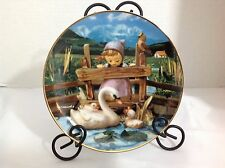 "Vintage M.I Hummel Gentle Friends Plate Collection ""Feathered Friends"" Plate"