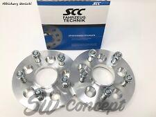 60mm 2x30mm ensanchamiento SCC chrysler 300c LX pista placas distancia cristales