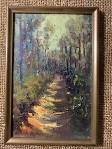 1965 Expressionist Oil Painting - Signed ??