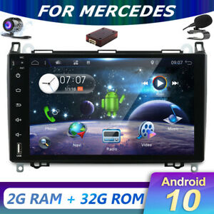 """9""""Android10 Sat Nav For Mercedes A/B Class Viano Vito Sprinter W639 Stereo DAB"""