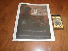 "HARLEY- DAVIDSON AD-""Someday""- Plus cards-2003"