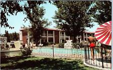 LAS CRUCES, New Mexico  NM   Roadside  MISSION INN MOTOR HOTEL  c1960s  Postcard