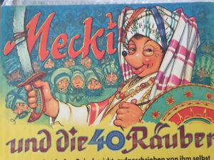 Mecki Nr. 9 und die 40 Räuber Buch 60er Jahre