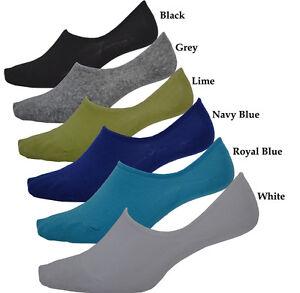 Bulk 12 Pairs Men's No Show Footlet Socks Boat socks Assorted Colors BULK