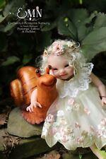 Enchanted Kreature Kits~Tolliver the Brownie by Lauren Jaimes~Blnk Vinyl DollKit