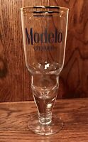 NEW Modelo Especial Cerveza Gold Rimmed Beer Chalice Glass