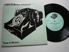 TIME IN MOTION: I Want To Be Your Telephone (Red Rhino) 1982 Synth/Electronic